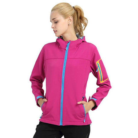 Outdoor Quick Dry Hooded Jacket