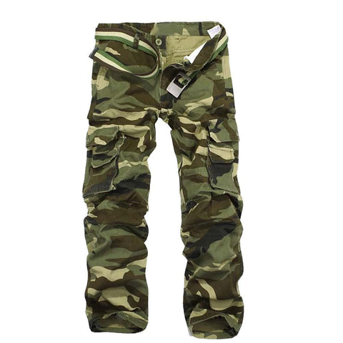 Military Multi-Pockets Climbing Pants