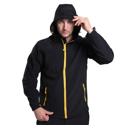 Breathable Climbing Softshell Jacket