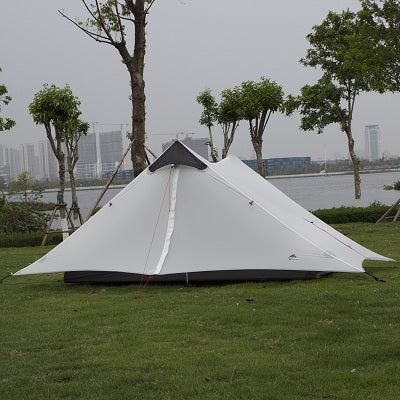 Double Layer NO POLE Windproof Tent