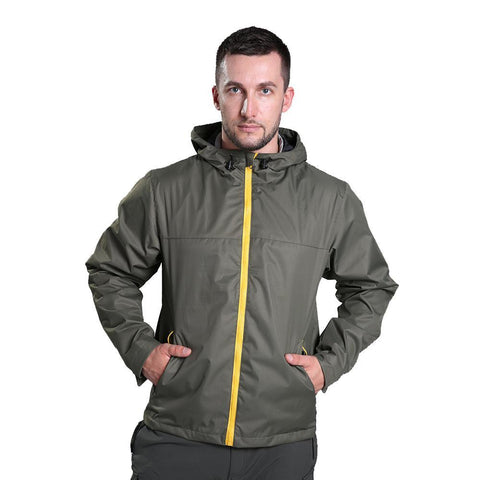 Windproof Hunting Hooded Monolayer Coat