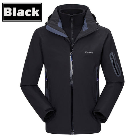 Windproof Warm Three In One Coat