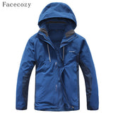 Two Sets Fleece Hiking Jacket