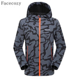 Outdoor Hiking Front Zipper Coat