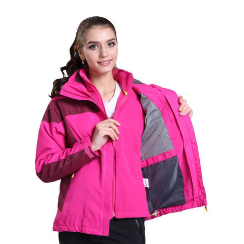 Outdoor SoftShell Winter Hooded Coat