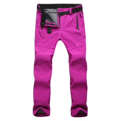 Waterproof Warm Trekking Trousers