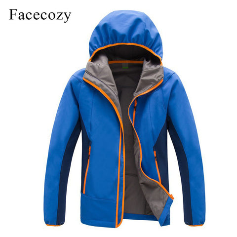 Breathable Patchwork Hiking Coat