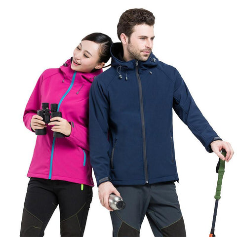 Outdoor Hooded Camping Jacket