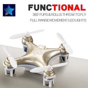 Cheerson CX-10 CX-10A Mini Drone Rc Helicopter 4CH 6 Axis RC Remote Control Quadcopter with Led Light RTF Drone
