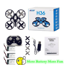 Drone rc helicopter mini drone jjrc h36 2.4Ghz 6 axis gyro rc quadcopter helicopter control remote toys for children nano copters