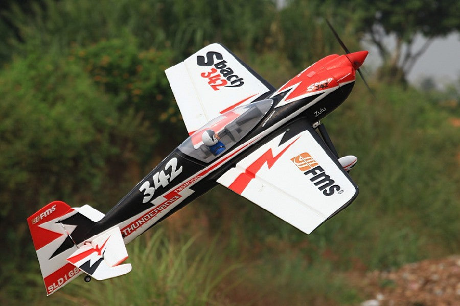 FMS 1300MM 1.3M Sbach 342 PNP Durable EPO Aerobatic 3D Big Scale Radio Control RC Airplane Model Plane Aircraft