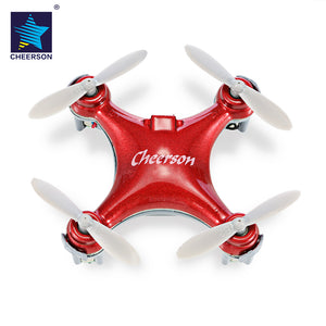 Outdoor Drone CHEERSON CX - 10SE Nano RC Quadcopter RTF 2.4GHz 4CH 6-axis Gyro / 360-degree Flip / Speed Switch Helicopter Gifts