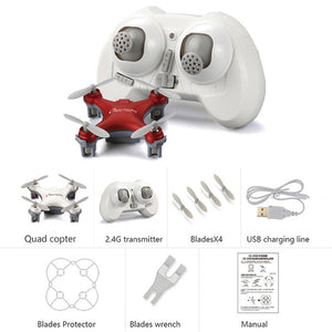 CHEERSON RC Mini Drone Toys Classic Pinkycolor CX-10SE CX10SE 2.4G RC 4CH 6 Axis Mini RC Quadcopter with LED Lights RTF Dron Toy