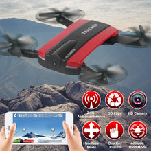 JXD 523 Foldable Mini Drone With Camera HD Dron RC Helicopter Helicoptero De Controle Remoto Outdoor Toys JXD523