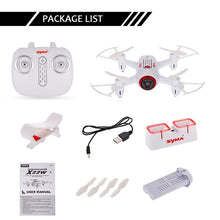 Syma X22W Wi-Fi FPV 0.3MP Camera Drone Selfie Mini Drone 2.4G 4CH 6-Axis Altitude Hold RC Quadcopter RTF Dron
