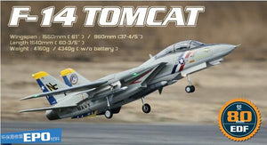 Freewing Twin 80mm rc airplane jet model F14 F-14 Tomcat with Variable Sweep Wing KIT with servos