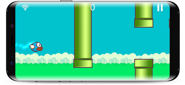 flappy bird in a pelvic floor biofeedback game with the kegel exercises app perifit