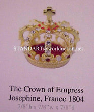 French Empire Empress JOSEPHINE Miniature Crown in presentation case