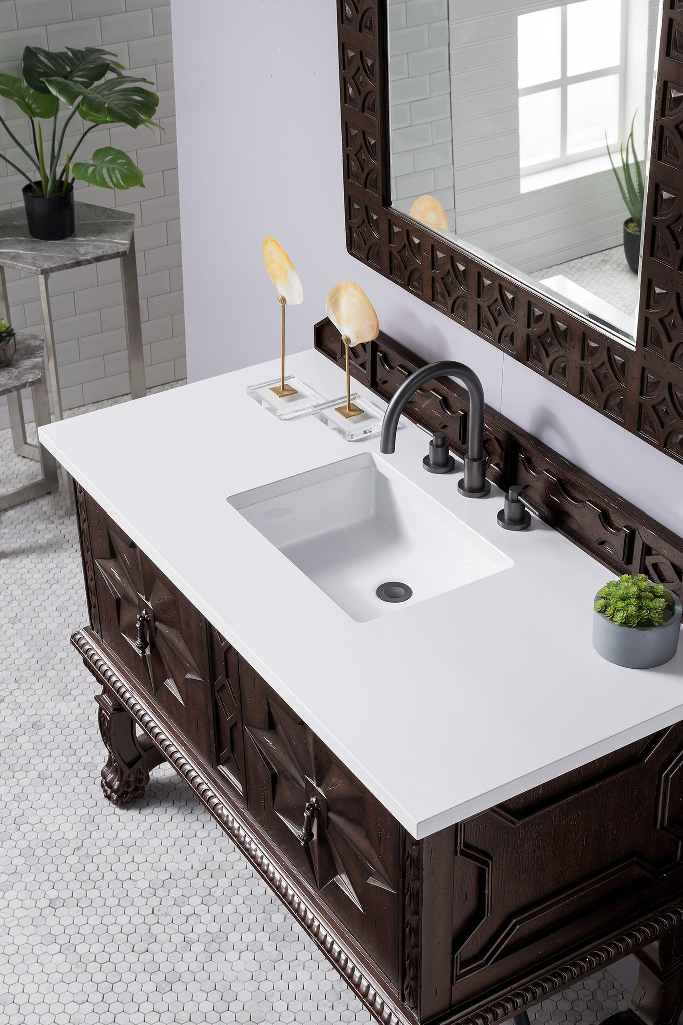 "Balmoral 48"" Single Bathroom Vanity Single Bathroom Vanity James Martin Vanities"