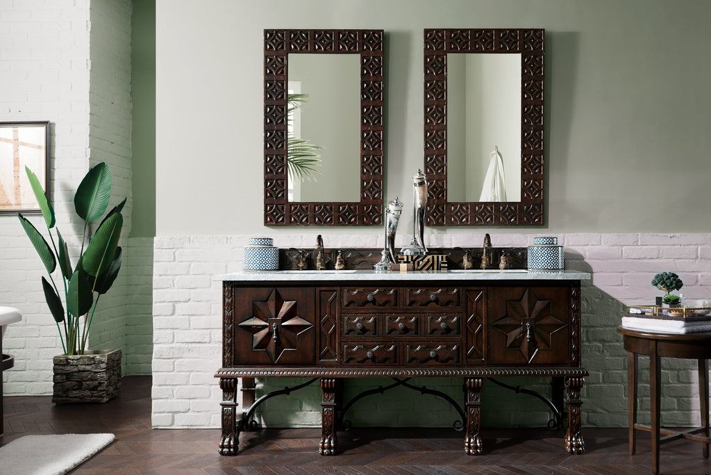 "Balmoral 72"" Double Bathroom Vanity"