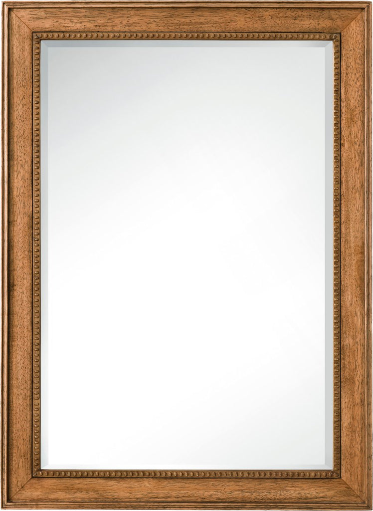 "Bristol 29"" Mirror (Rectangular), Saddle Brown"