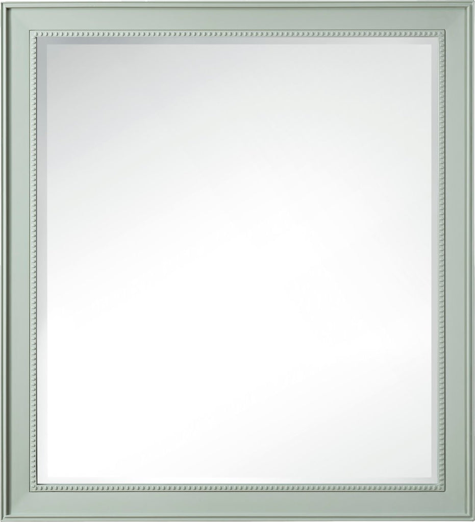 "Bristol 44"" Mirror Rectangular, Sage Green"