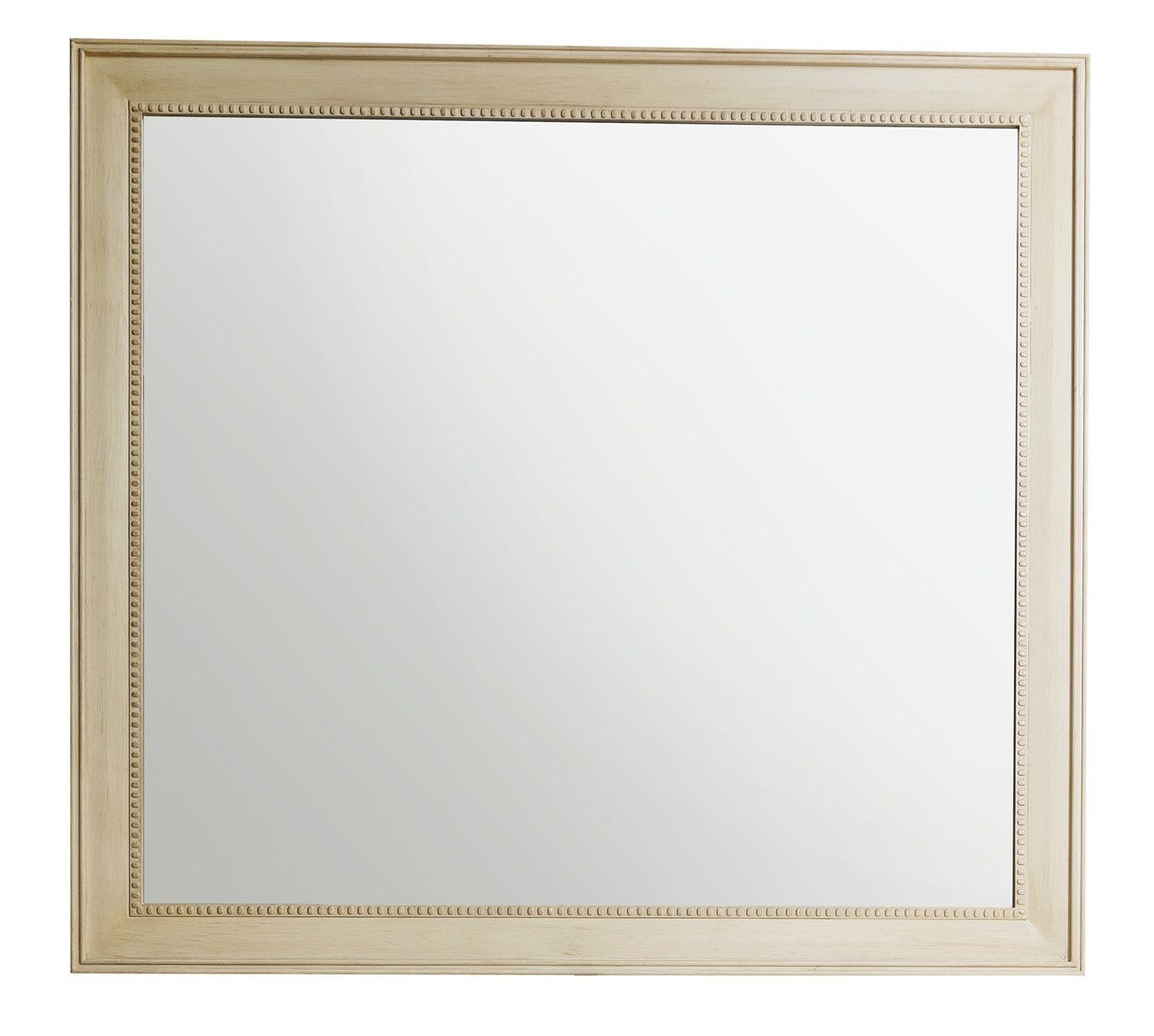 "Bristol 44"" Rectangular Mirror, Vintage Vanilla Mirror James Martin Vanities"