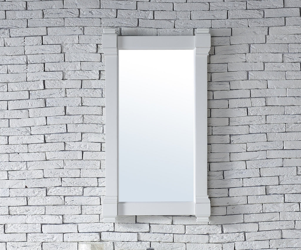 "Brittany 22"" Mirror, Bright White"