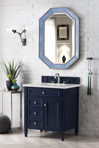 Brittany 30 Single Vanity Victory Blue