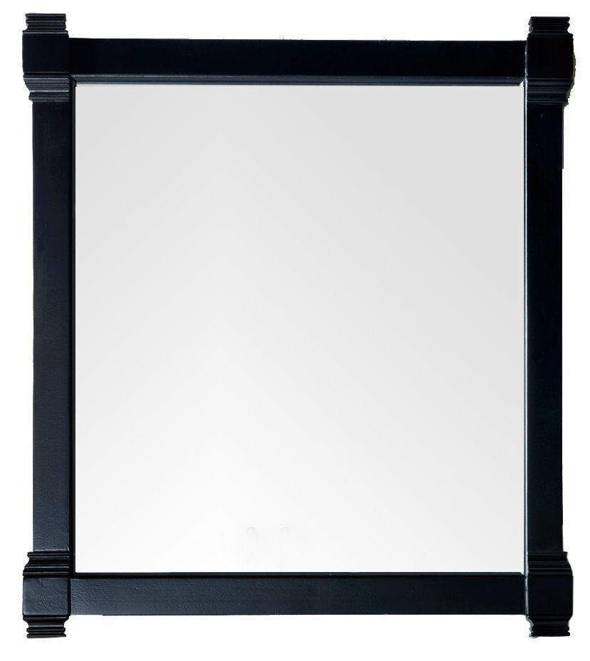 "Brittany 35"" Mirror, Black Onyx Mirror James Martin Vanities"