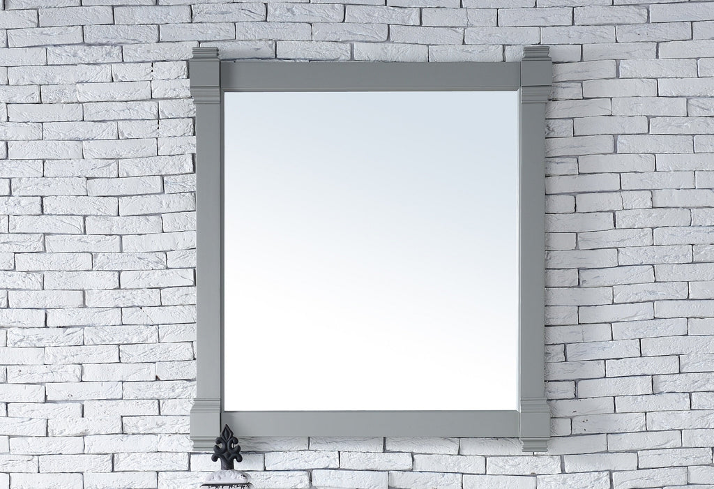 "Brittany 35"" Mirror, Urban Gray"