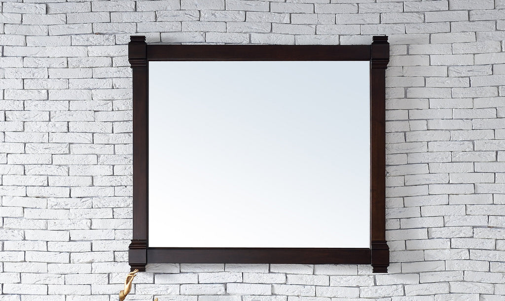 "Brittany 43"" Mirror, Burnished Mahogany"