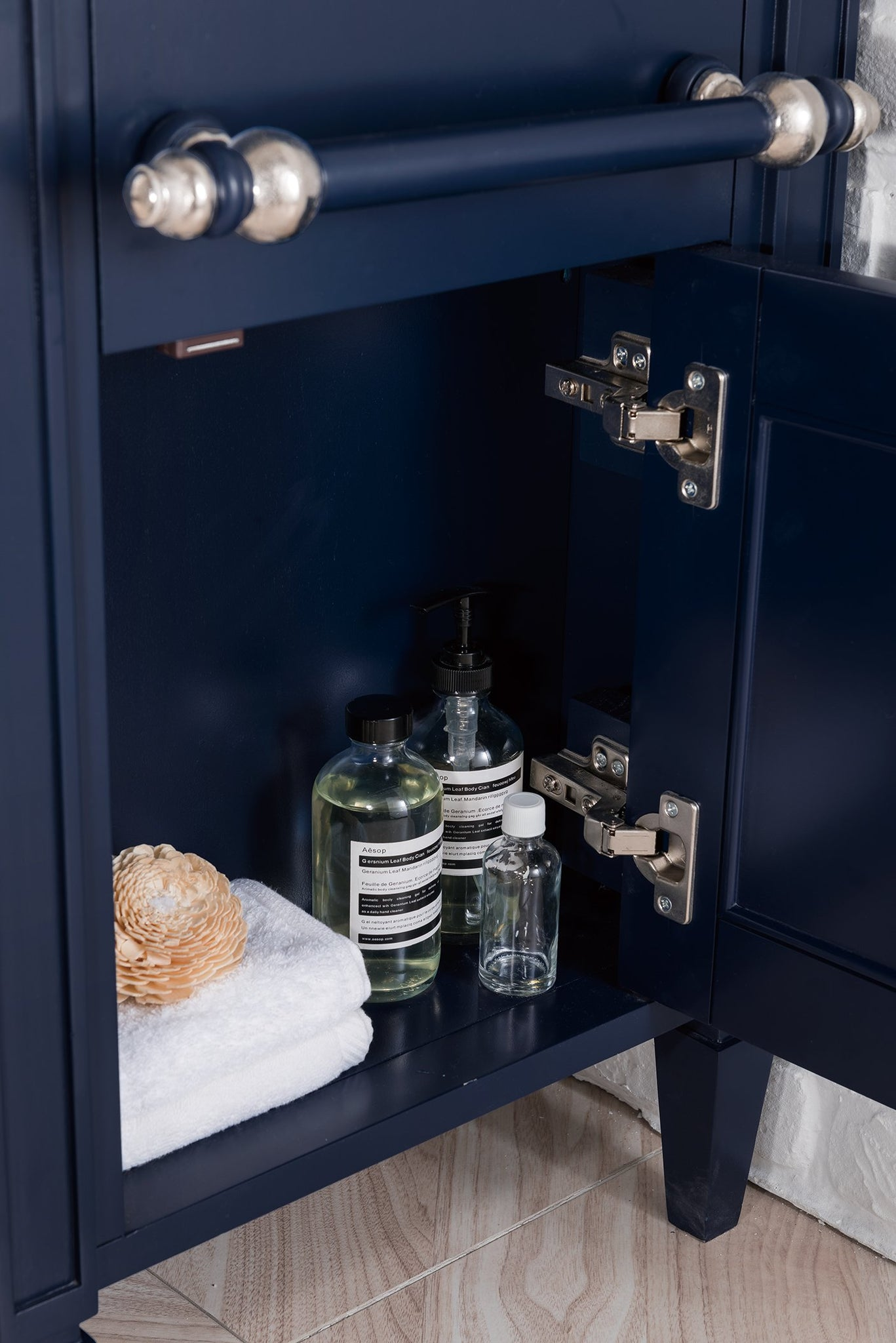 "Brittany 46"" Single Bathroom Vanity, Victory Blue Single Bathroom Vanity James Martin Vanities"