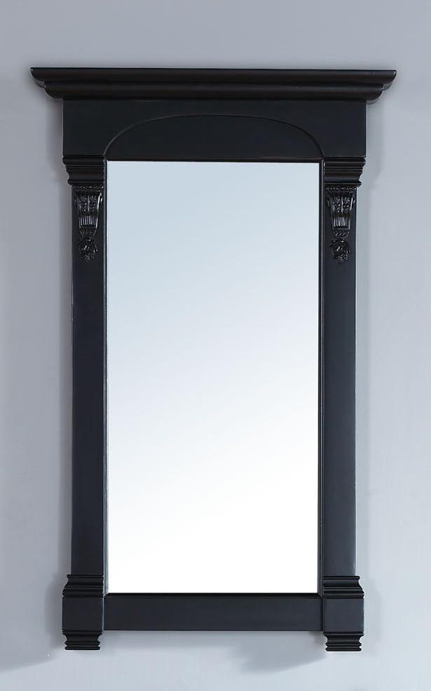"Brookfield 26"" Mirror, Antique Black Mirror James Martin Vanities"