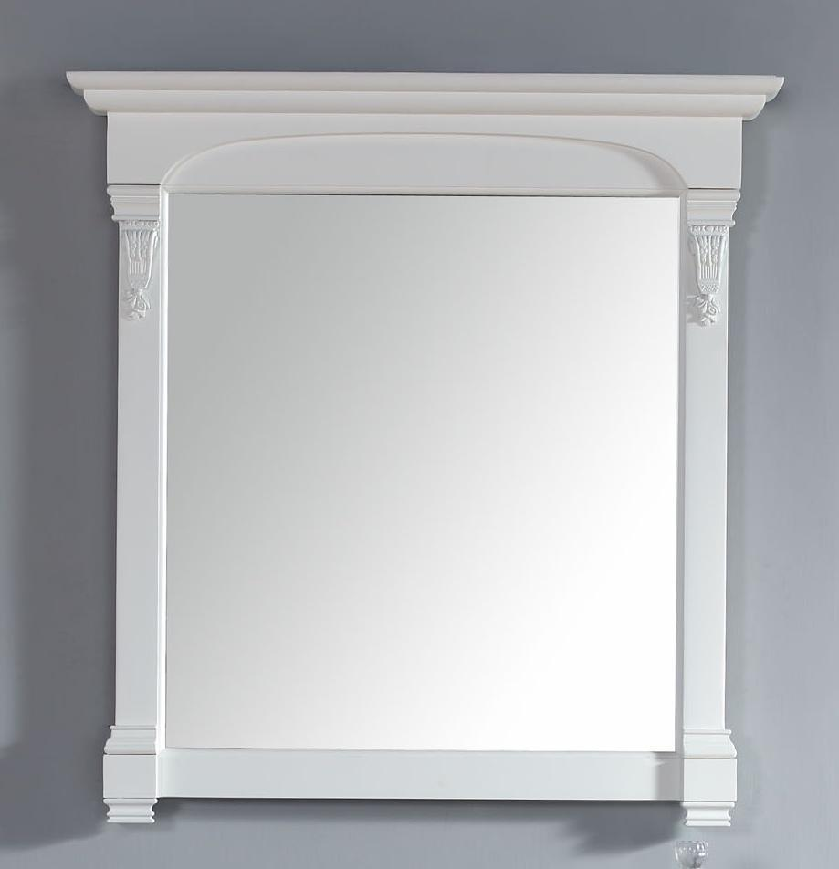 "Brookfield 39.5"" Mirror, Bright White"