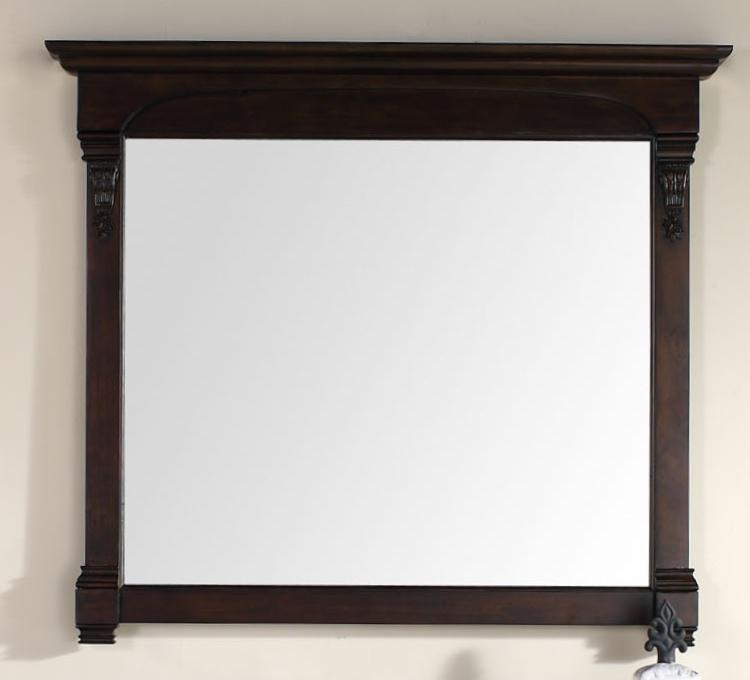 "Brookfield 47.25"" Mirror, Burnished Mahogany"