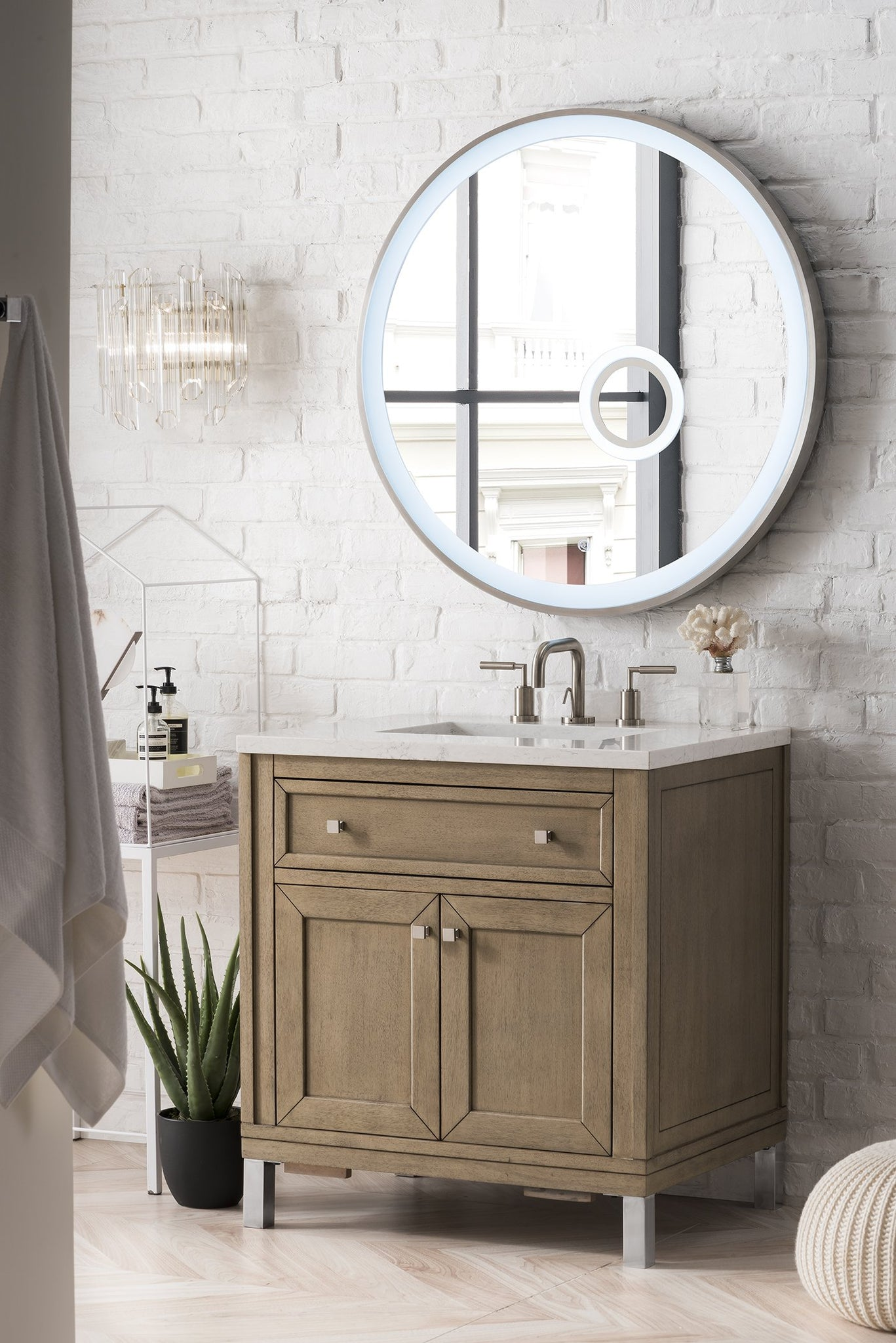 "Chicago 30"" Single Bathroom Vanity Single Bathroom Vanity James Martin Vanities"