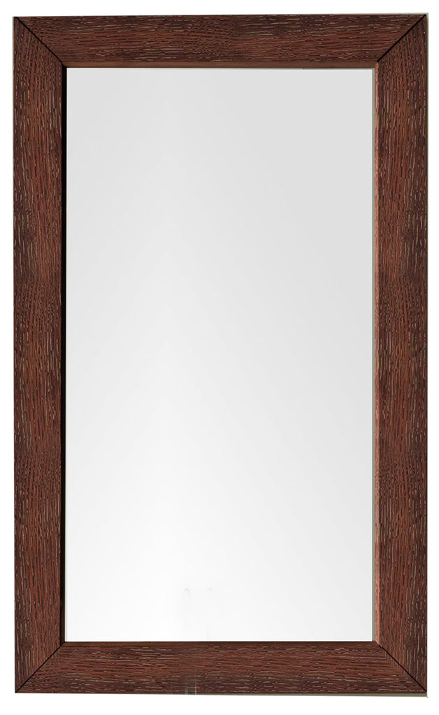 "Columbia 29"" Mirror, Coffee Oak"