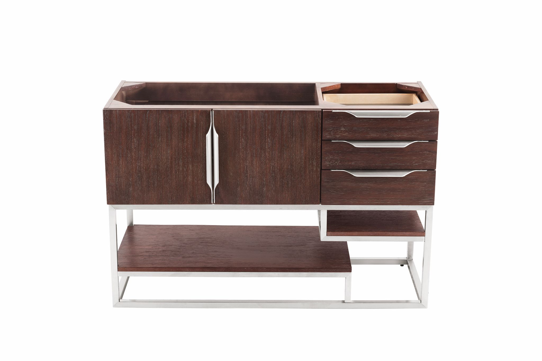 "Columbia 48"" Single Bathroom Vanity, Coffee Oak Single Bathroom Vanity James Martin Vanities"