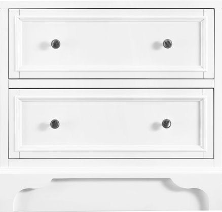 "De Soto 26"" Drawer Unit, Bright White Drawer Unit James Martin Vanities"