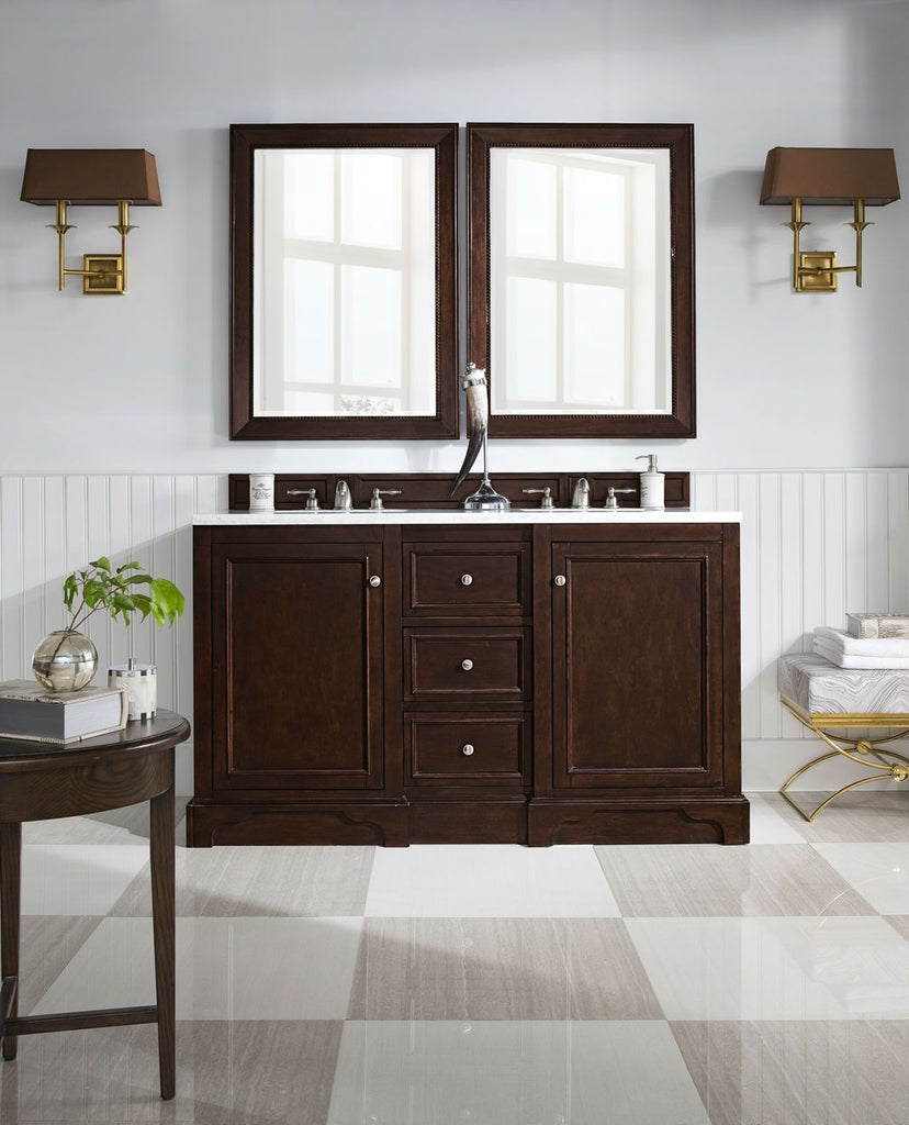 "De Soto 60"" Double Bathroom Vanity"