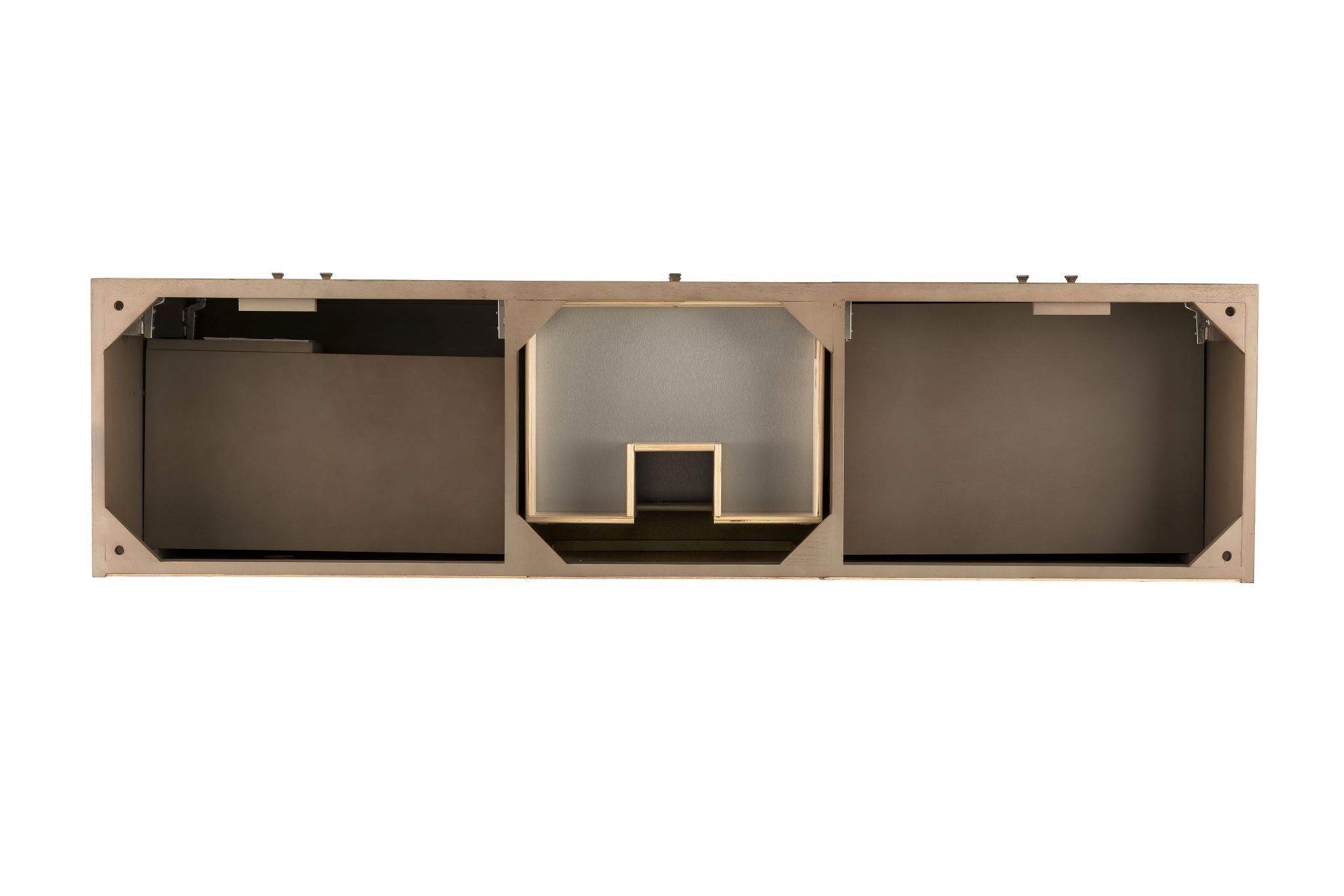 "Linear 72"" Single Bathroom Vanity, White Washed Walnut Single Bathroom Vanity James Martin Vanities"
