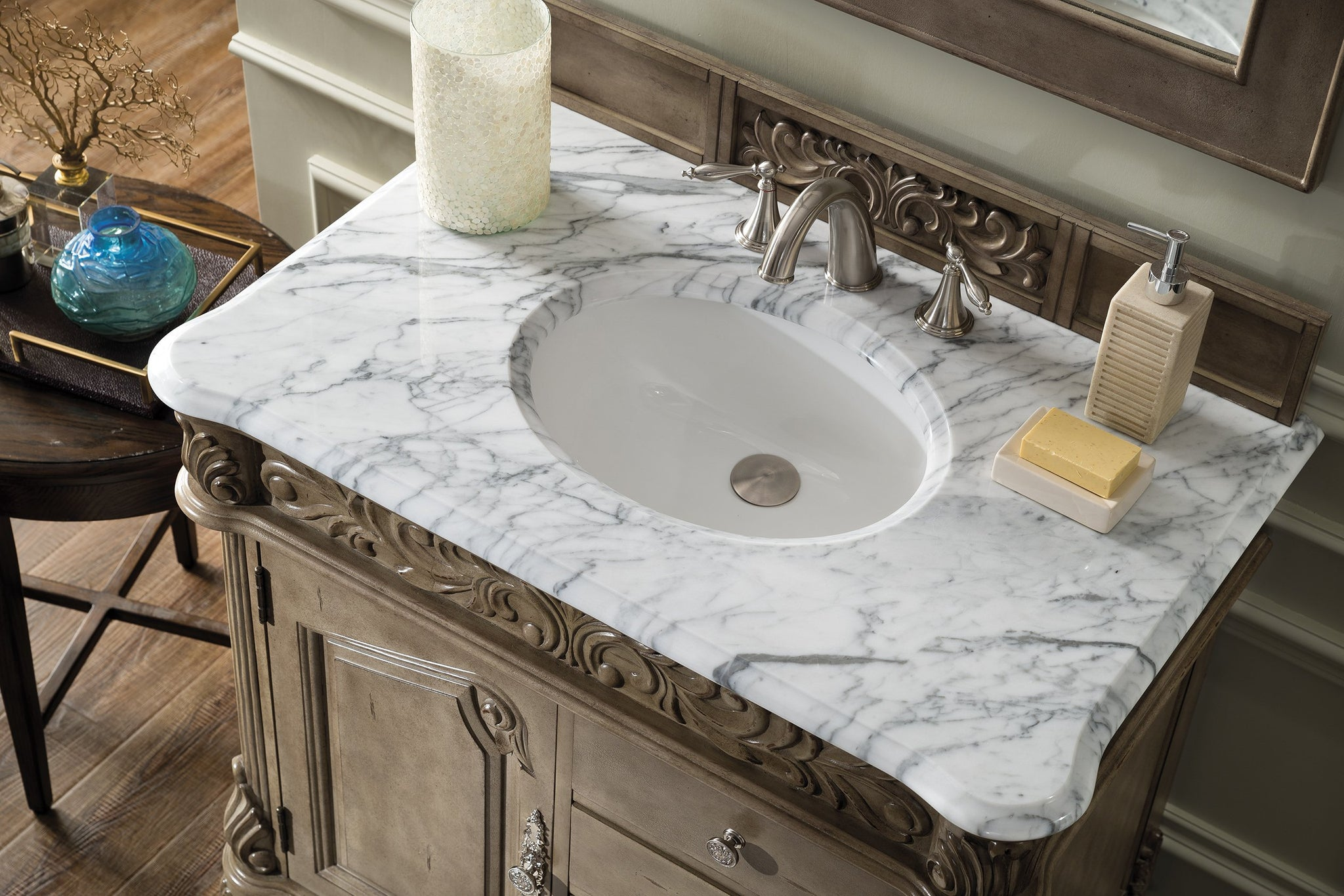 "Monte Carlo 36"" Single Bathroom Vanity Single Bathroom Vanity James Martin Vanities"