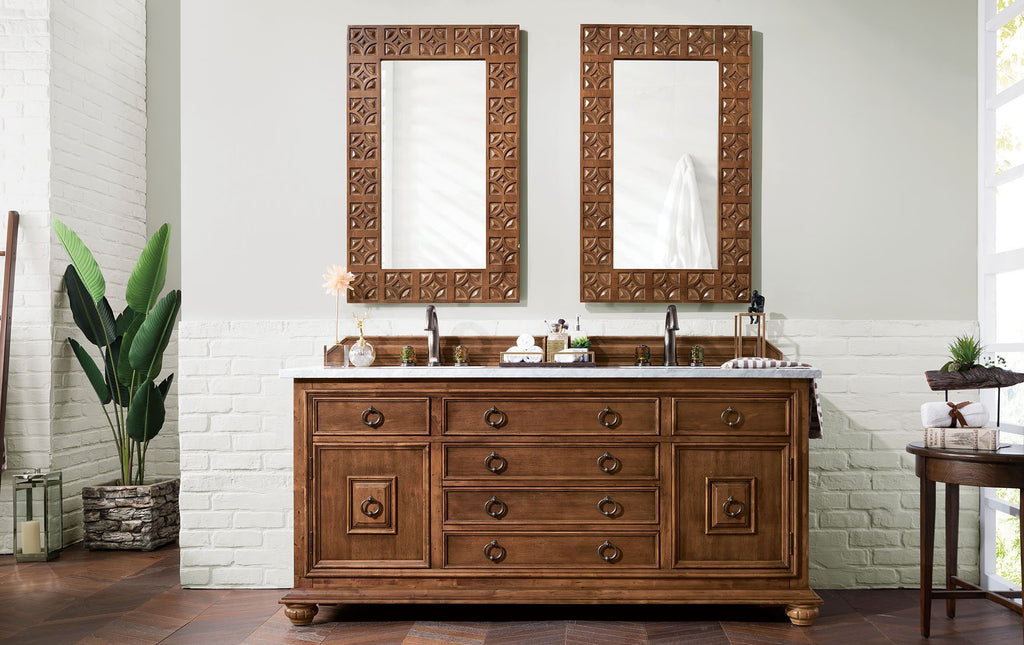 "Mykonos 72"" Double Bathroom Vanity"