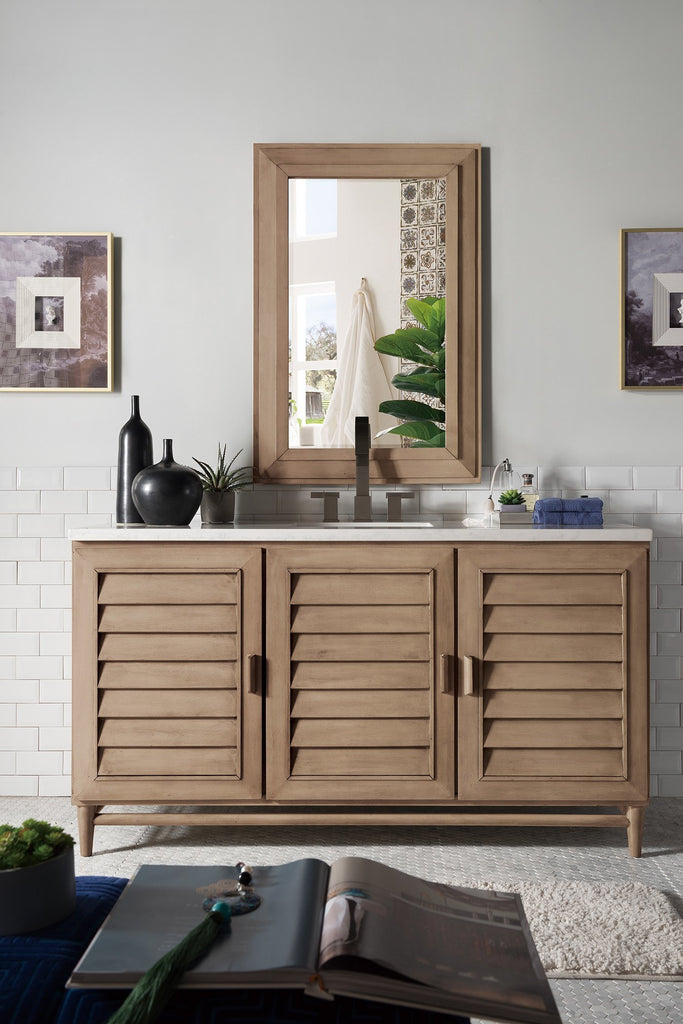 "Portland 60"" Single Bathroom Vanity"