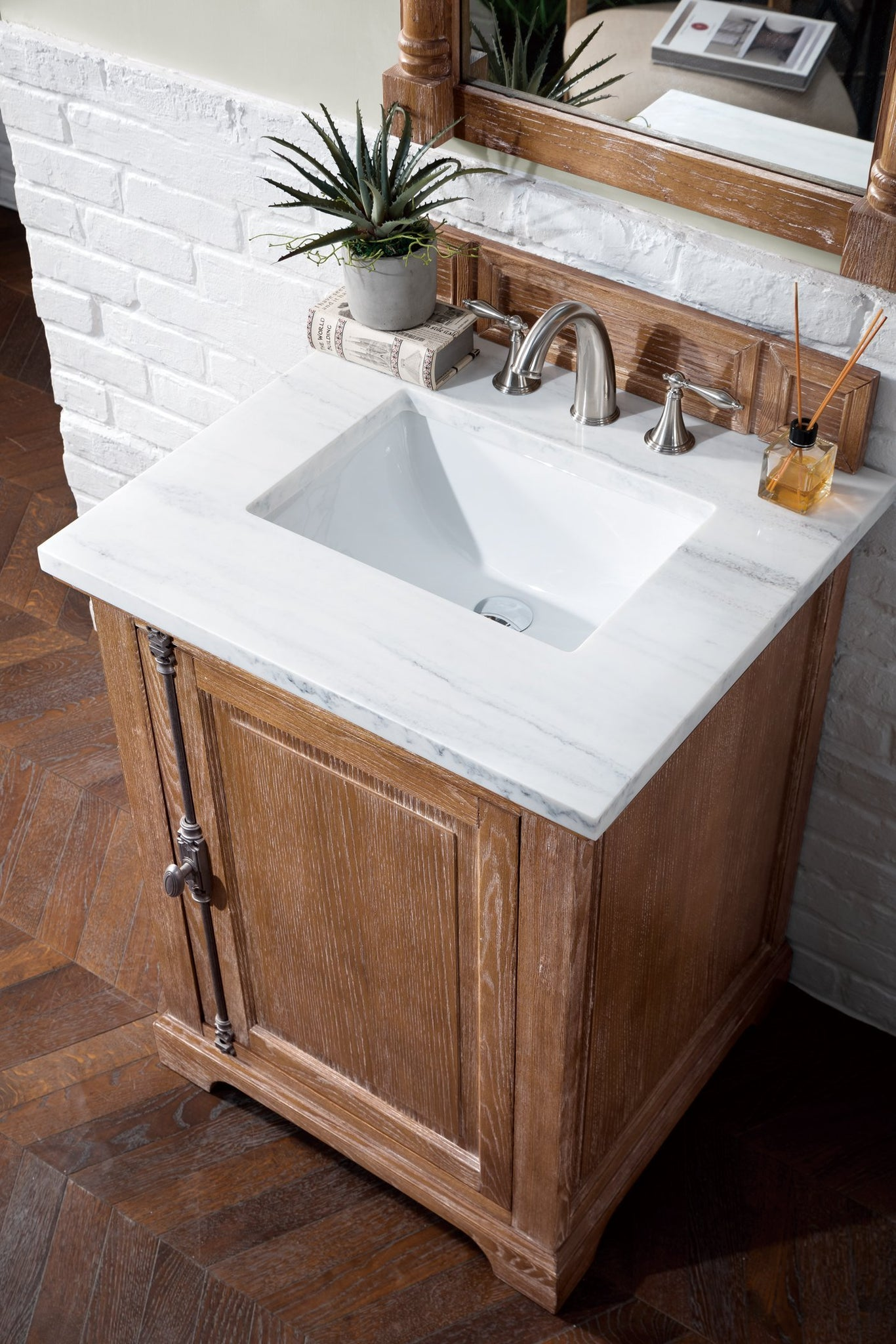 "Providence 26"" Single Bathroom Vanity Single Bathroom Vanity James Martin Vanities"
