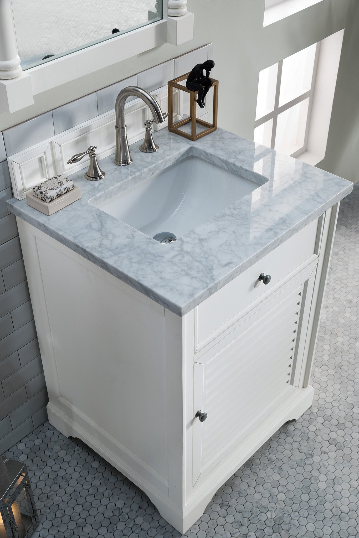 "Savannah 26"" Single Bathroom Vanity Single Bathroom Vanity James Martin Vanities"