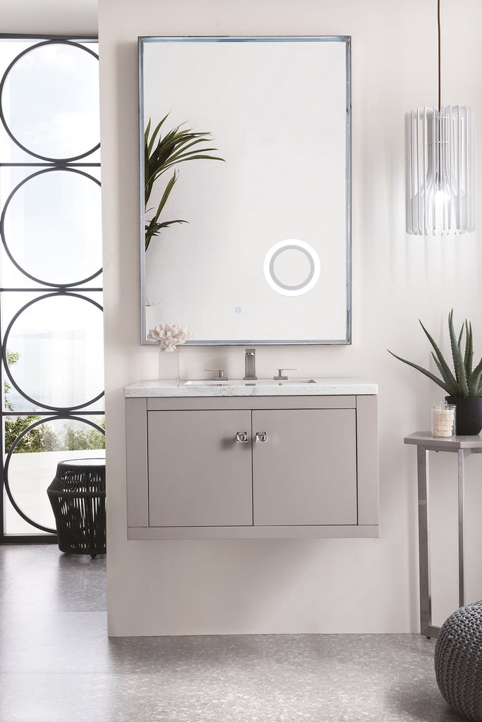 "Silverlake 30"" Single Bathroom Vanity, Mountain Mist"