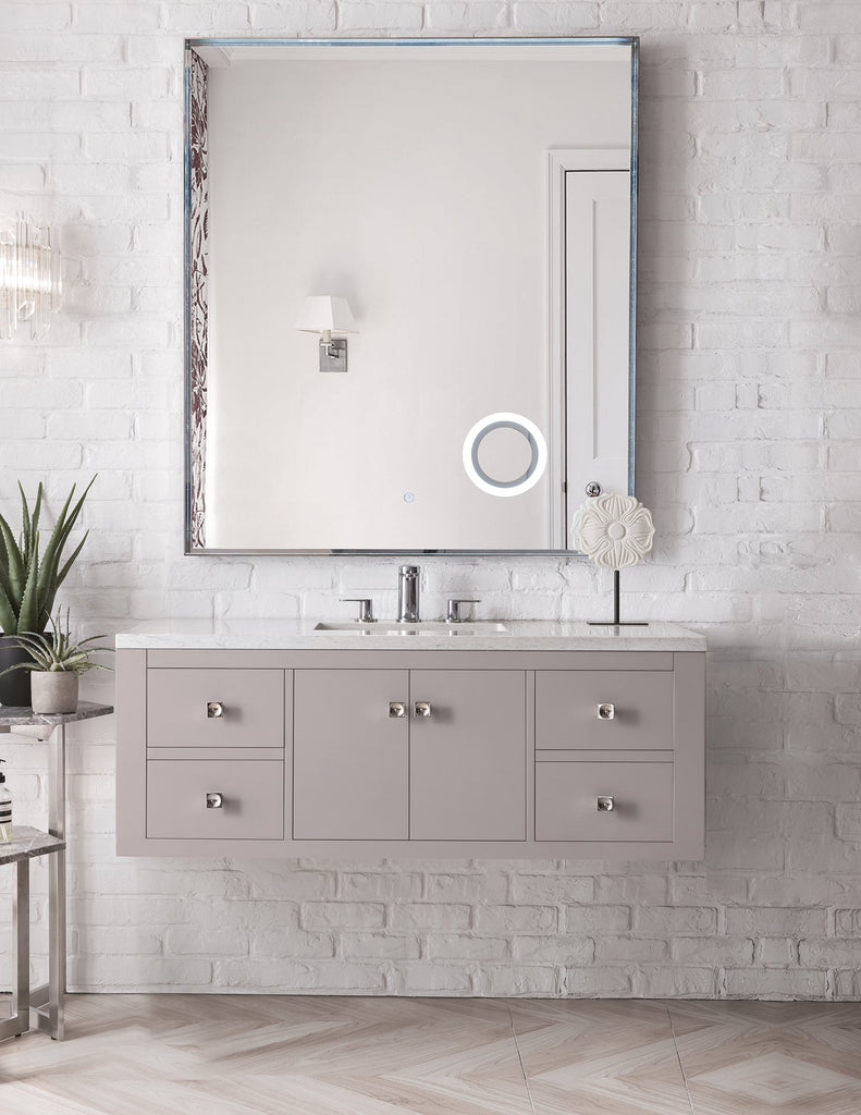 "Silverlake 48"" Single Bathroom Vanity, Mountain Mist"