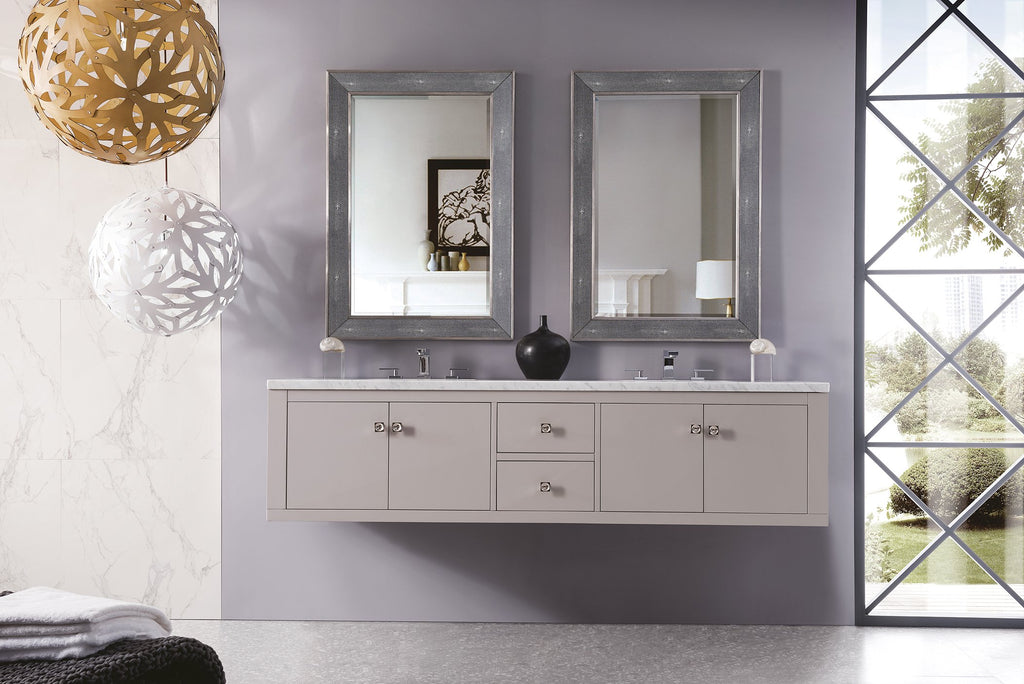 "Silverlake 72"" Double Bathroom Vanity, Mountain Mist"